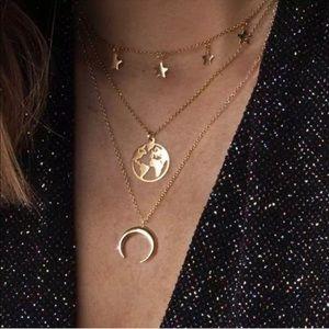 3/$30 💛 Multi Layer Pendant Necklace